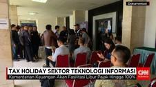 Tax Holiday Sektor Teknologi Informasi