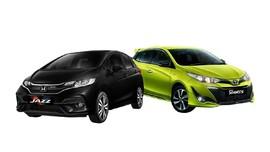 Komparasi Toyota Yaris dan Honda Jazz