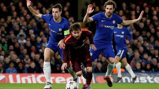 Barcelona Vs Chelsea Duel Untuk Wakil Terbanyak Di Delapan Besar