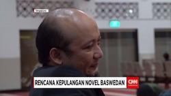 KPK Siap Sambut Kedatangan Novel Baswedan