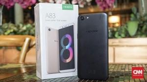 Oppo A83, Ponsel Selfie dengan Bokeh Kurang Cadas