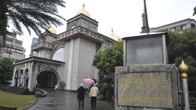 Taiwan semakin serius menggarap sektor wisata halalnya. Dari mulai restoran siap saji sampai hotel, semua dikondisikan nyaman untuk dikunjungi turis Muslim. (AFP PHOTO / Mandy CHENG)