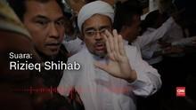 VIDEO: Rekaman Suara Rizieq Umumkan Batal Pulang