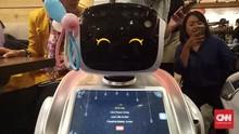 Sammy dan Sally, Dua Robot 'Penghibur' Saat Menyantap Pizza