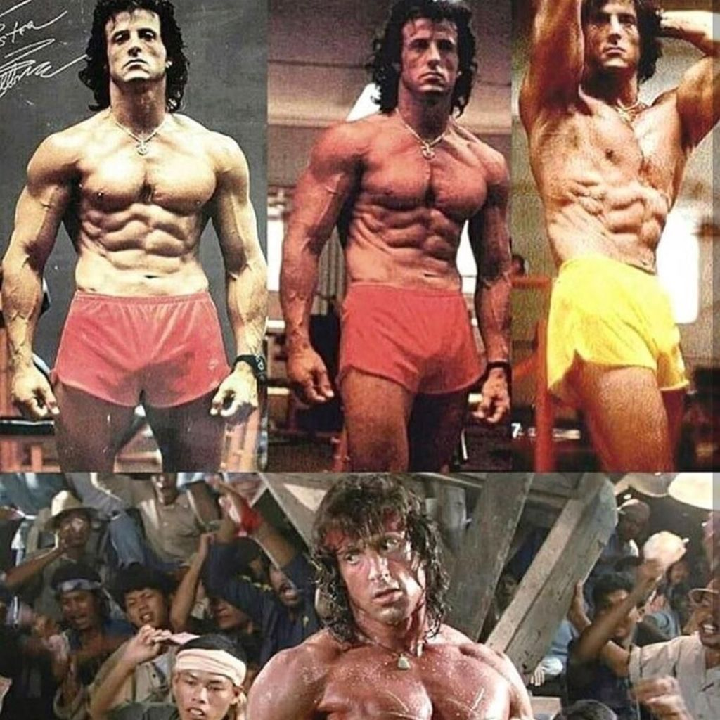 Bugarnya Sylvester Stallone Saat Nge-gym yang Mentahkan Hoax Ia Meninggal