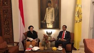 Jelang Rakernas PDIP, Megawati dan Jokowi Bahas Isu Strategis