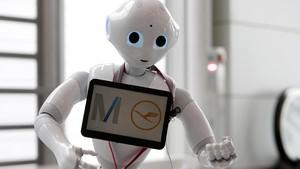 FOTO: Robot Humanoid 'Mondar-mandir' di Bandara Munich