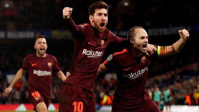 Conte: Jangan Harap Iniesta Absen Lawan Chelsea