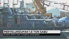 Tim Gabungan Gagalkan Penyelundupan 1,6 Ton Sabu