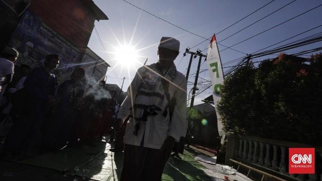 FOTO: Kandas Harapan Bertemu Imam Besar