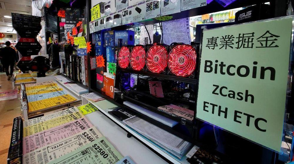 Beberapa pasar bazaar elektronik terbesar di Asia dibanjiri pelanggan yang mencari teknologi terbaru pertambangan uang digital.