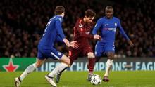Messi Patahkan Kutukan Mandul Gol ke Gawang Chelsea
