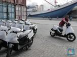 Ekspor Sepeda Motor RI Terus Menggeliat