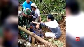 VIDEO: Lima Orang Tewas Akibat Longsor Brebes