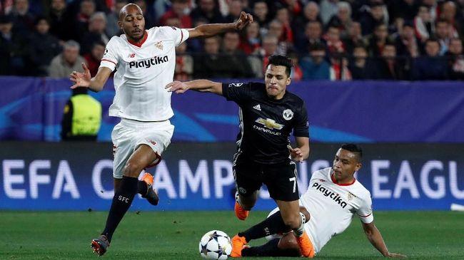 Susunan Pemain Manchester United vs Sevilla