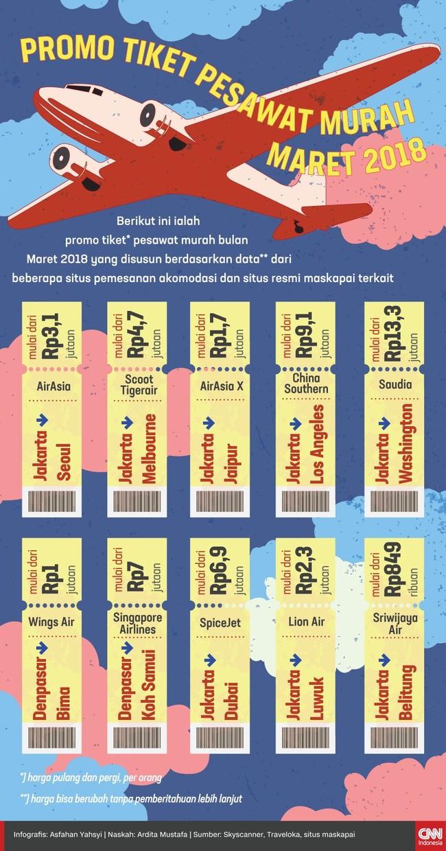 Infografis Promo Tiket Pesawat Murah Maret 2018 Jakarta Ke Jepang Pergi Pulang Dengan Garuda Indonesia