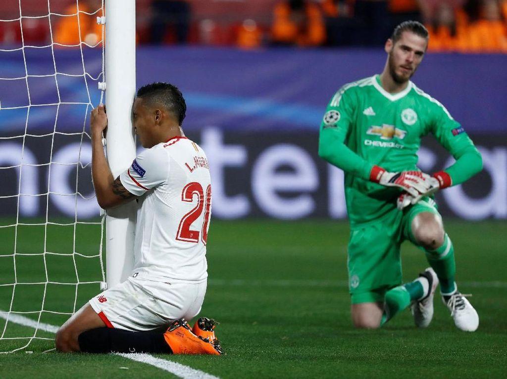 Foto: Sevilla vs MU Buntu