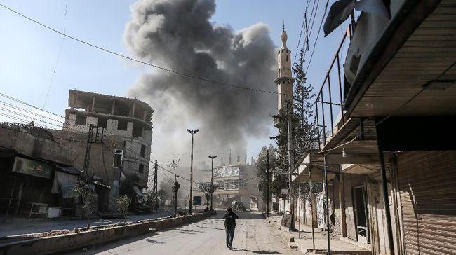 Militer Rusia Klaim Evakuasi 13 Warga Sipil dari Ghouta