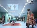 FOTO: 'Drama' Boyong Kepala di Show Gucci Milan Fashion Week