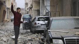 Ratusan Ribu Pengungsi Afrin Tak Punya Tempat Berteduh