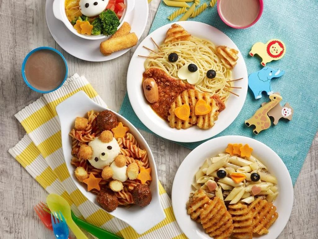 Ini 10 Bekal Bentuk Karakter Lucu yang Bisa Bikin si Kecil Suka Makan