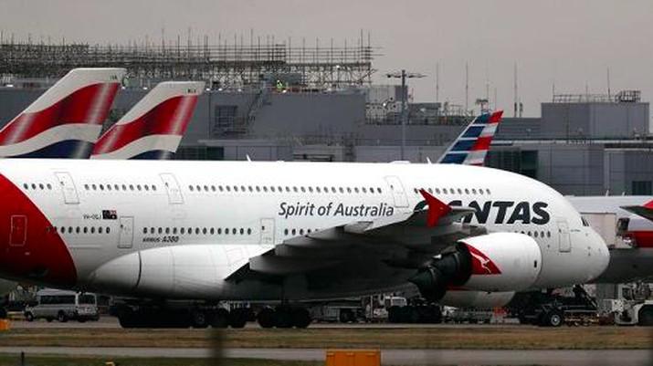 Qantas Tinggalkan Eropa dan Pilih Asia Demi Kejar Pertumbuhan