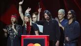 Brit Awards 2018 sebagai penghargaan musik budaya pop tertinggi di Inggris juga memberikan pemenang kategori Best International Group kepada Foo Fighters.(REUTERS/Hannah McKay)