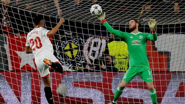 Jelang Man United vs Sevilla, Tim Tamu Puji De Gea