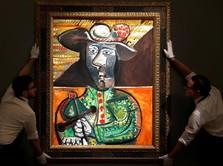 Siap Dilelang, Lukisan ini Ditaksir Ratusan Miliar