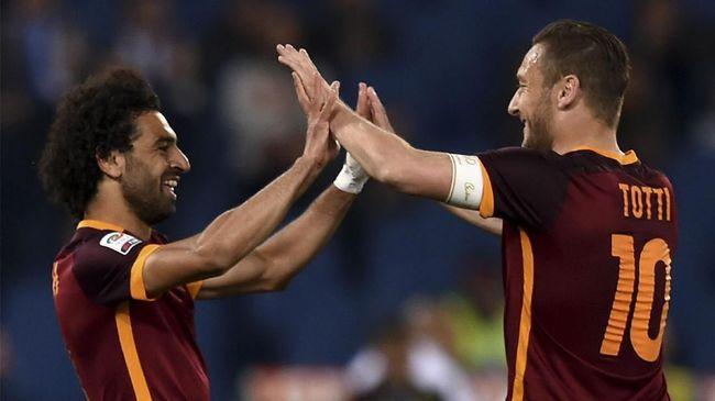 Jelang Liverpool vs Chelsea, Totti Buka-bukaan Soal Salah