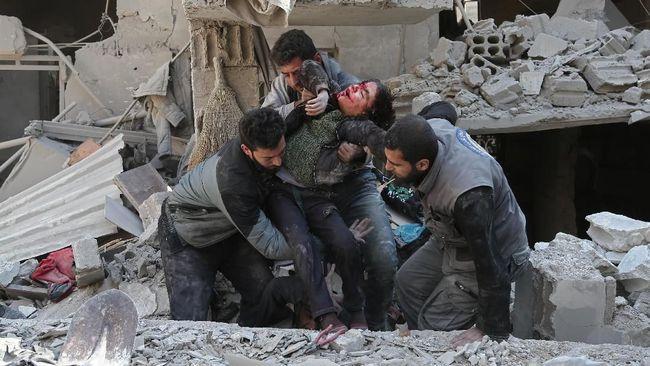 Kronologi Serangan Bertubi-tubi Suriah ke Ghouta Timur