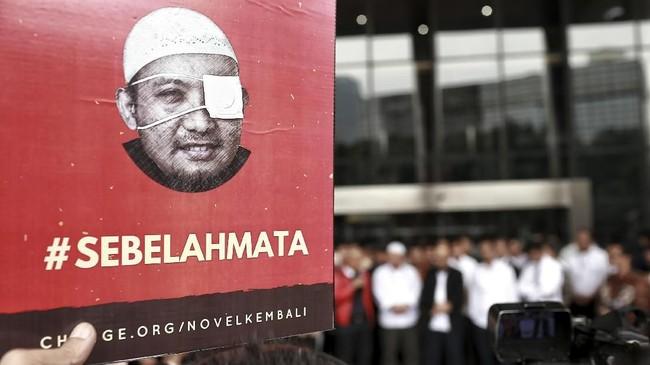 FOTO: Kepulangan dan Asa Penuntasan Kasus Novel Baswedan