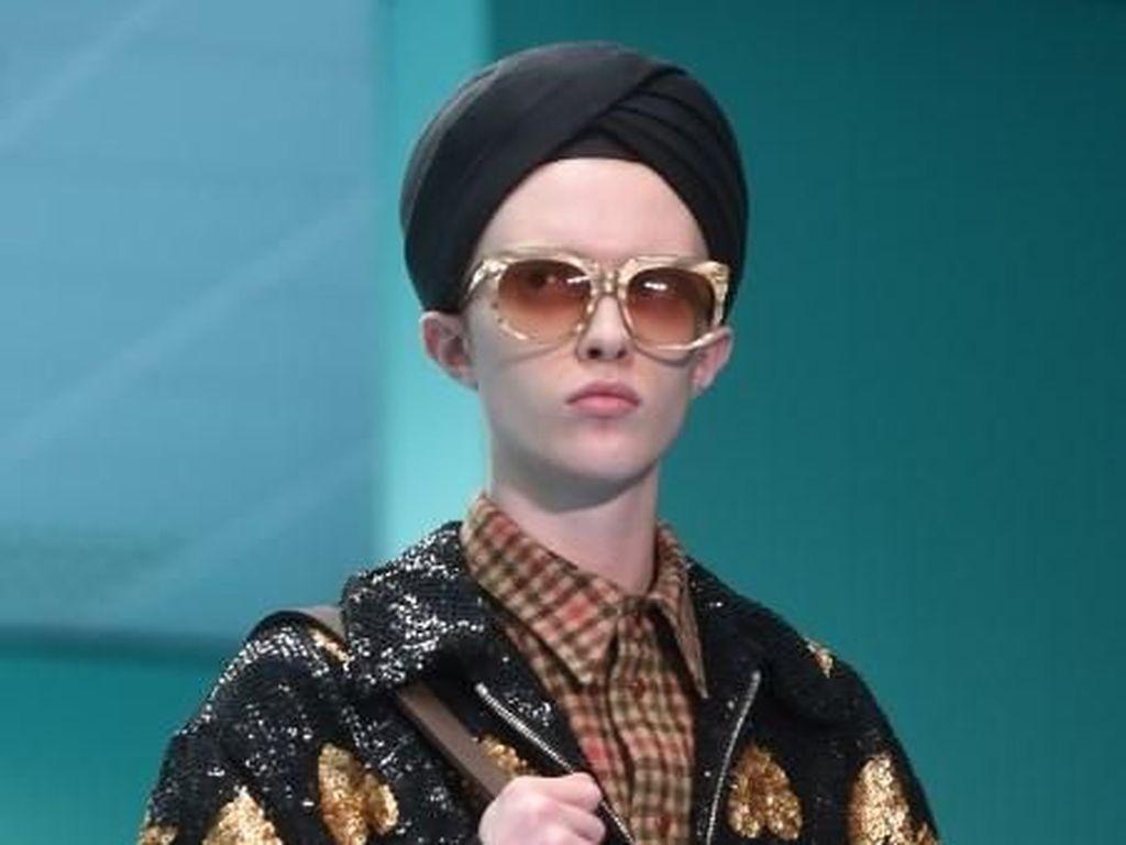 Gucci Diprotes Penganut Sikh karena Model Pakai Turban Saat Fashion Show