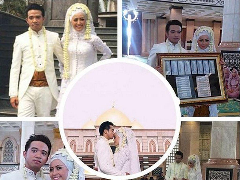 Namun tiba-tiba saja ia menikah dengan Roby Geisha pada 28 Oktober 2015. (Dok. Instagram/cinta_ratu_nansya)