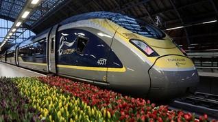 'Kereta Empat Jam' Mempersingkat Jarak London ke Amsterdam