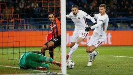 Shakhtar Donetsk Menundukkan AS Roma 2-1
