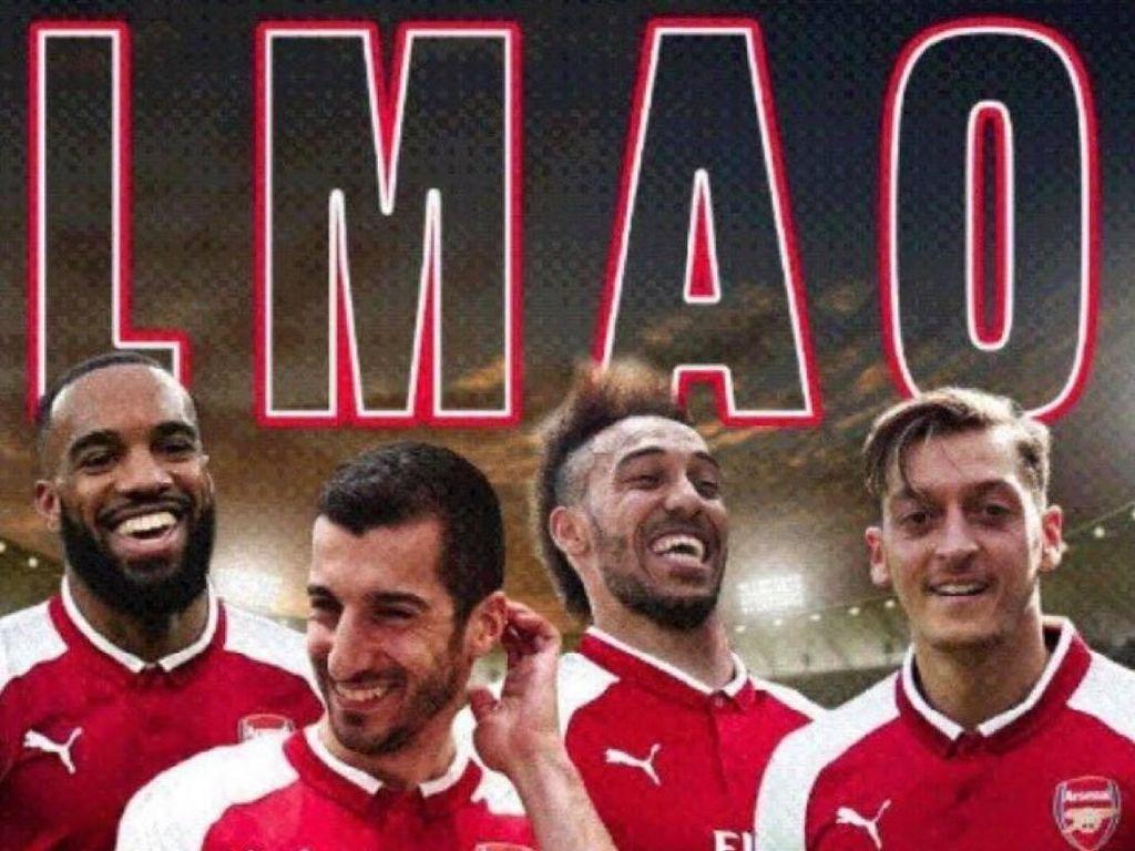 Kalah tapi Lolos, Arsenal Disindir Meme-meme Kocak