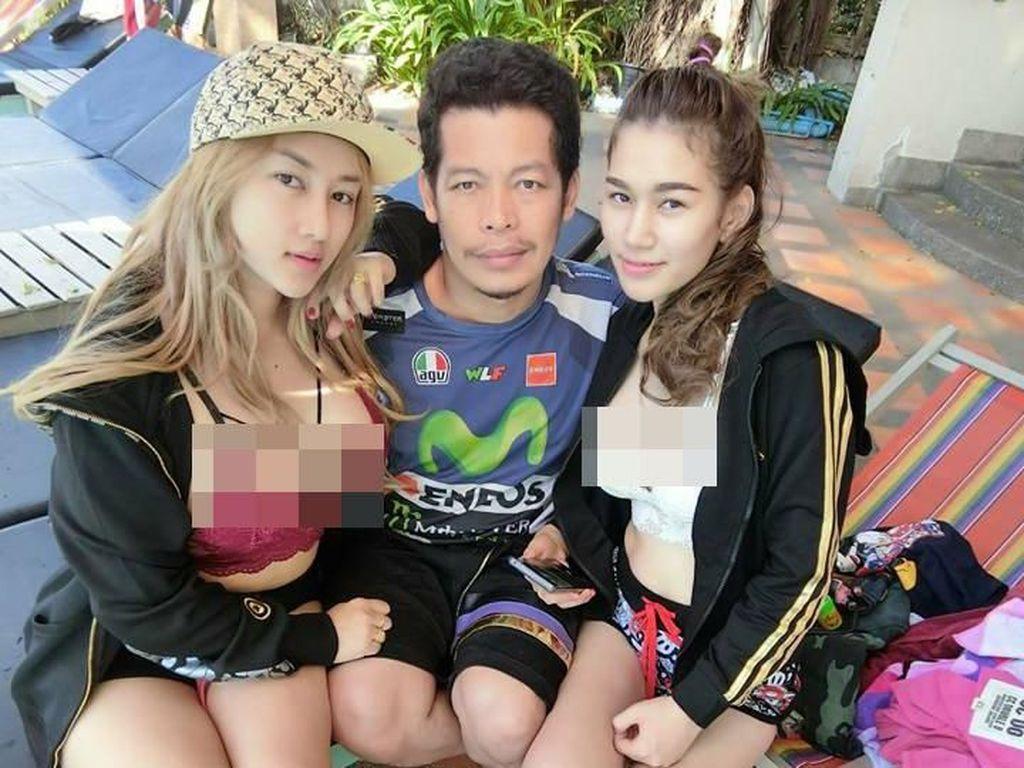 Punya Dua Istri Cantik dan Hidup Harmonis, Pria Thailand Ini Jadi Viral