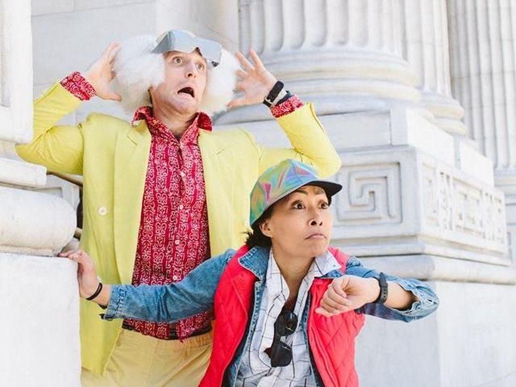 Bisa Ditiru! 10 Foto Kreatif Pasangan Buat Prewedding seperti Film Hollywood