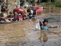 Banjir di Kabupaten Bandung, Ratusan Warga Mengungsi