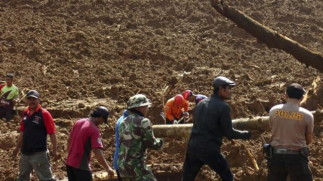 5 Penambang Emas Ilegal di Sulut Tewas Tertimbun Longsor