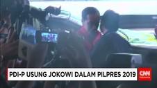 PDI-P Usung Joko Widodo Menjadi Capres di Pilpres 2019