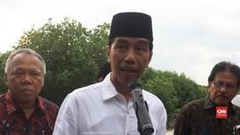 VIDEO: Respons Jokowi Usai Diusung Jadi Capres dari PDIP
