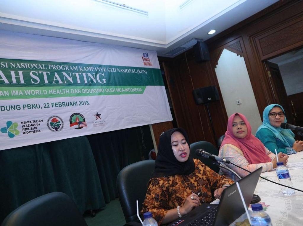 Fatayat NU Dukung Kampanye Gizi Nasional Cegah Stanting