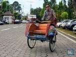 Menteri ESDM Jajal Mobil hingga Becak dari Tenaga Listrik