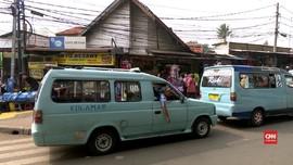 VIDEO: Sopir Angkot Tanah Abang Tolak Ok Otrip