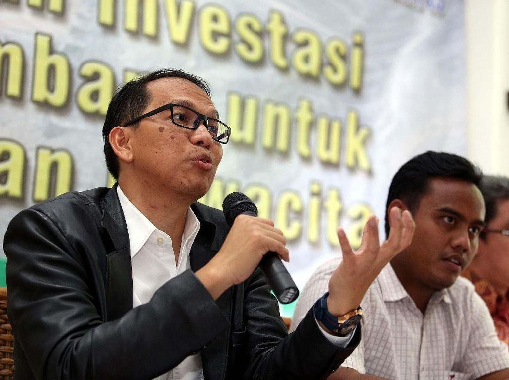 Rumah Kamnas menggelar diskusi publik bertajuk Advokasi Kebijakan Publik Pengembangan dan Perlindungan Investasi Tambang Nasional dalam Kerangka Keamanan Nasional (KamNas), di Jakarta, Kamis (22/02/2018).