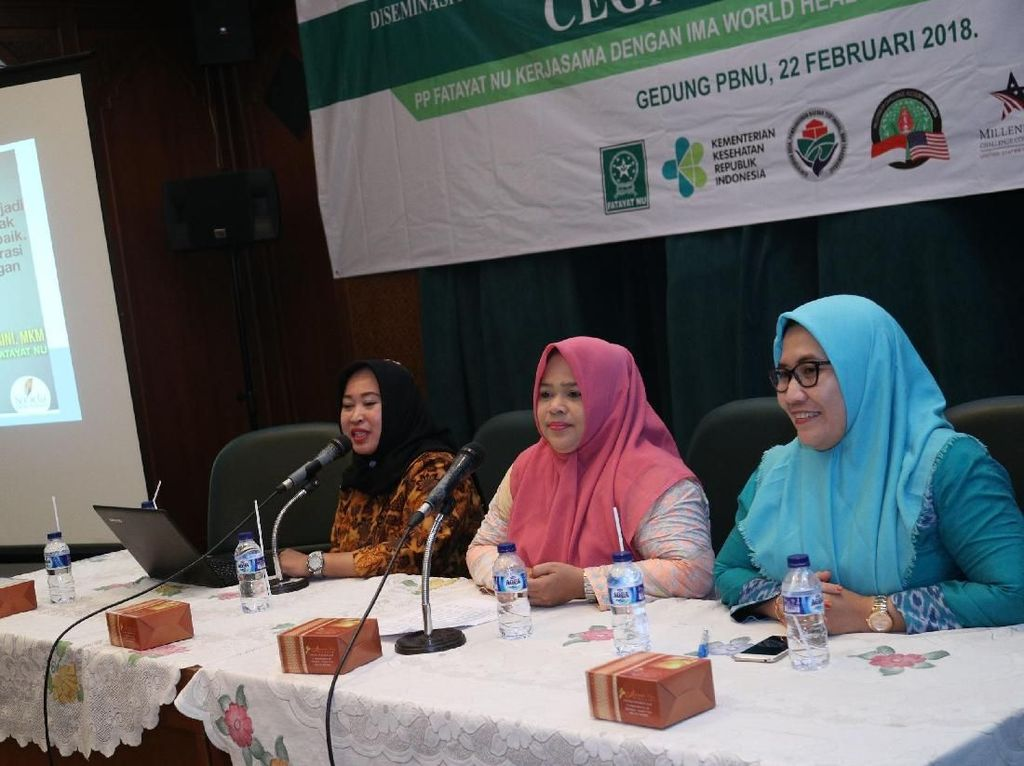 PP Fatayat NU bekerja sama dengan IMA World Health dan didukung MCA Indonesia mendukung program Kampanye Gizi Nasional Cegah Stanting.