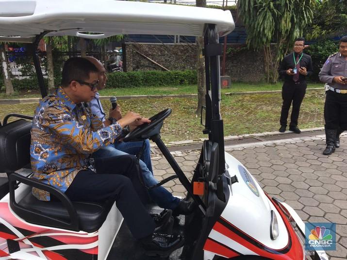 Indonesia mulai fokus dengan pengembangan mobil listrik.