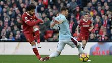 Hajar West Ham 4-1, Liverpool Geser Manchester United